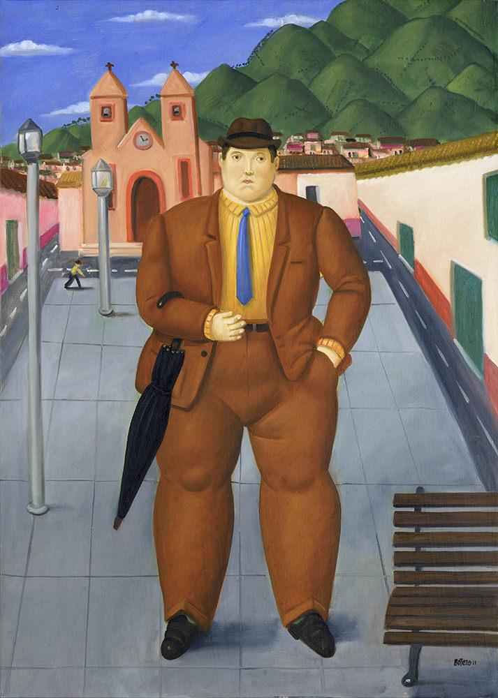 Fernando Botero 2011   Olio su tela 98 x 70 cm 8