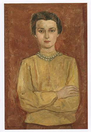 Massimo Campigli 1936 Oil on canvas 97.3 x 66.4 cm 2