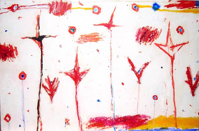 Nicola De Maria 1984 Oil on canvas 80 x 119.4 cm 1