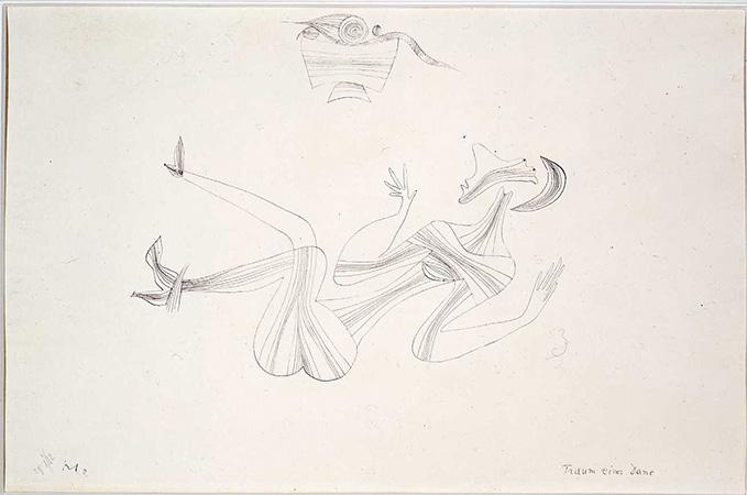Paul Klee 1928 Indian ink on paper 30.4 x 45.9 cm 1