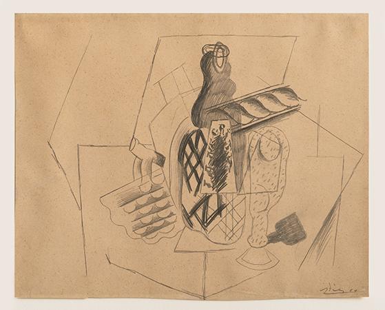 Pablo Picasso 1914 Crayon on paper 36.2 x 44.9 cm 1