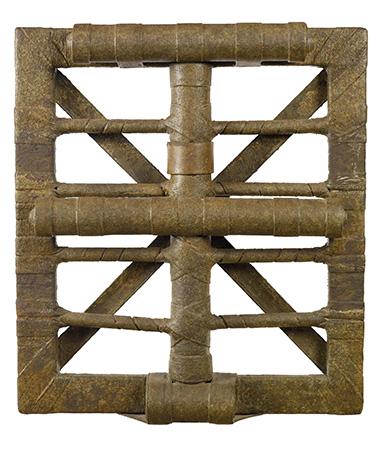 Salvatore Scarpitta 1979 Guaze, wood and mixed media 60 x 54 x 10 cm 1