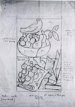 Gino Severini 1929 Pencil on paper 47 x 33,5 cm 1
