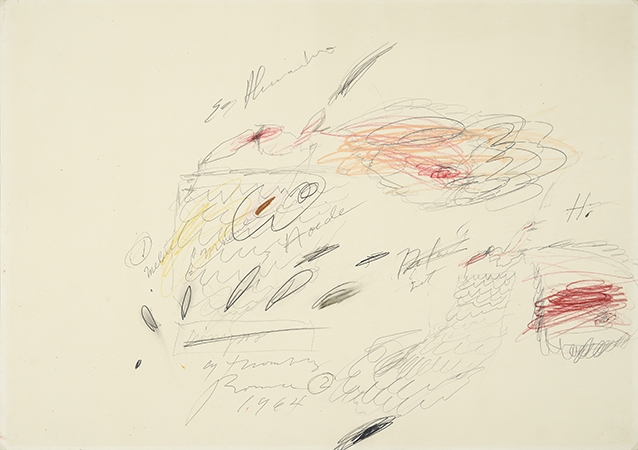 Cy Twombly 1964